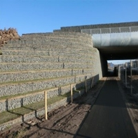 Ecoduct Wolfhezerheide ter hoogte van Wolfheze / Renkum