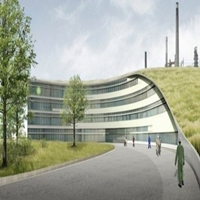 Ontlastconstructie hoofdkantoor BP te Rotterdam